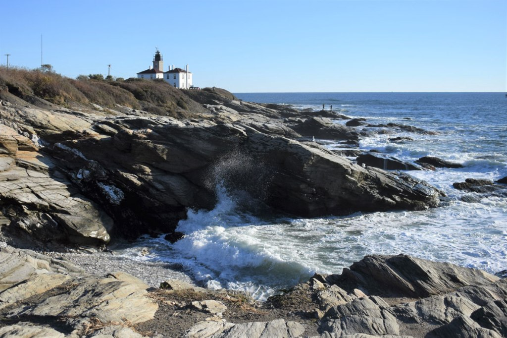 Image of Beavertail rocky shoreline