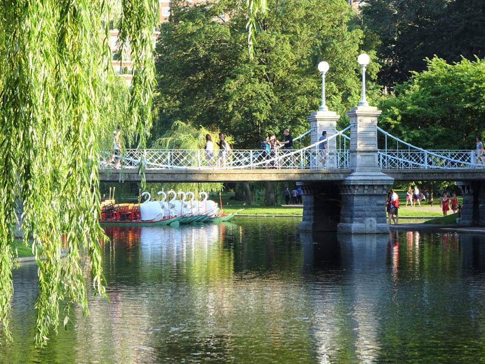 Image of Boston Public Gardens
