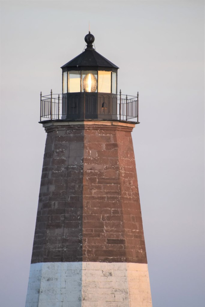 Image of Point Judith Lighthouse Close-up