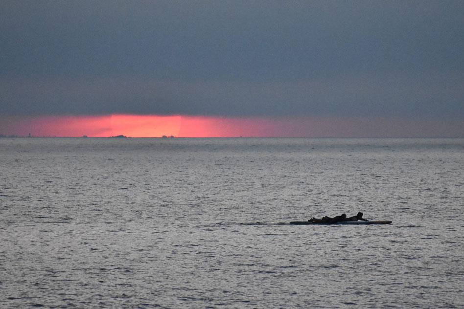 Imge of Sunrise Surf in Narragansett, RI
